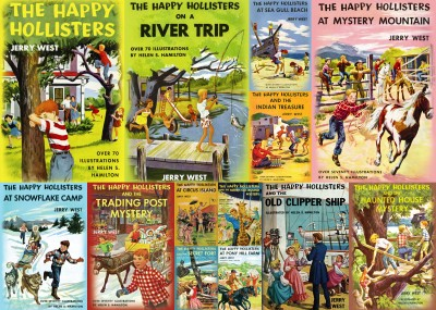 The Happy Hollisters by Jerry West; reissues to date