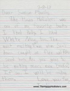 Taylor's Letter