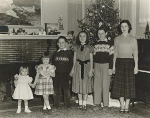 The Svenson Family (also known as The Happy Hollisters) -- Christmas 1951